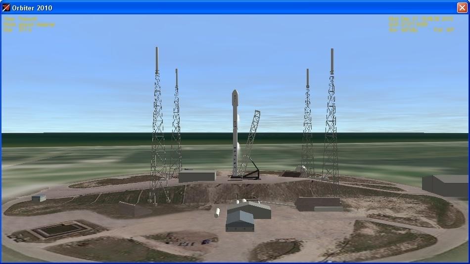 Летим и садимся вместе с Falcon 9R - 7