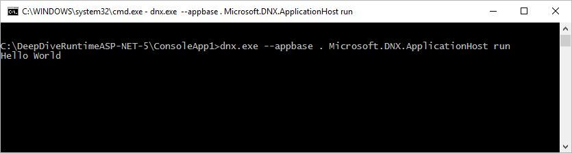 dnx run full