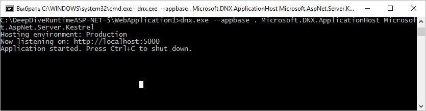 Погружение в ASP.NET 5 Runtime - 9