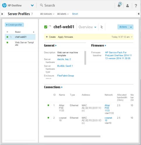 Рецепты от CHEFa: автоматизированное развёртывание сред бизнес-приложений с использованием HPE OneView - 8