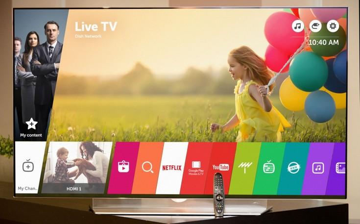 Новые телевизоры LG получат webOS 3.0