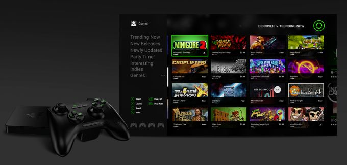 Razer обновляет приставку Forge TV