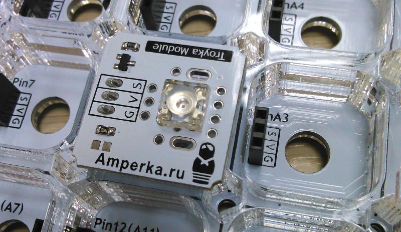 Обзор образовательного набора от Амперки — TETRA - 16
