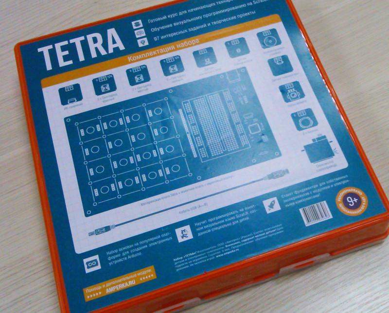 Обзор образовательного набора от Амперки — TETRA - 6