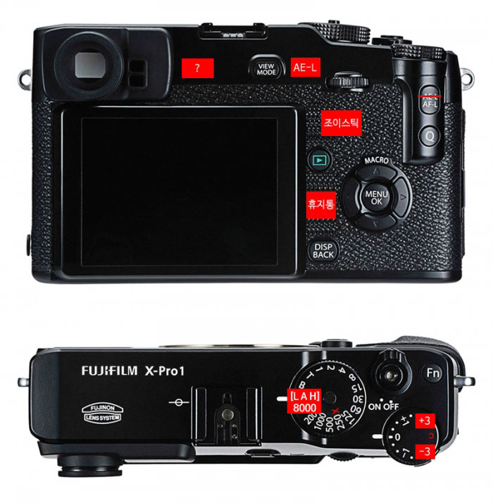 Камера Fujifilm X-Pro2 будет очень похожа на камеру Fujifilm X-Pro1