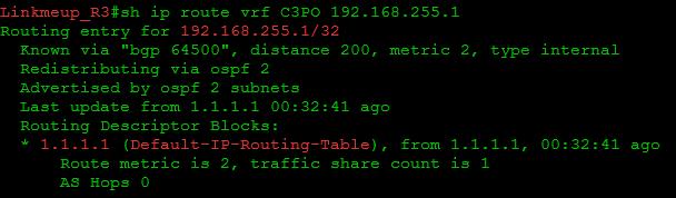 Сети для самых маленьких. Часть одиннадцатая. MPLS L3VPN - 56