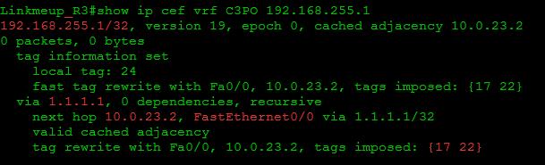 Сети для самых маленьких. Часть одиннадцатая. MPLS L3VPN - 60