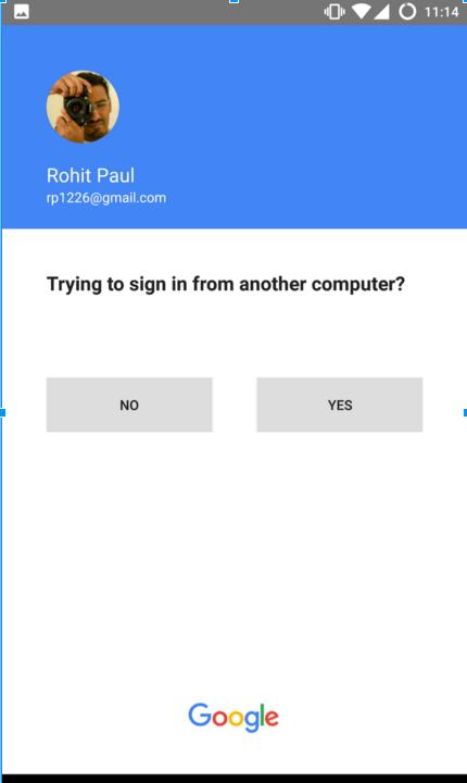 Google тестирует «беспарольный» вход - 5