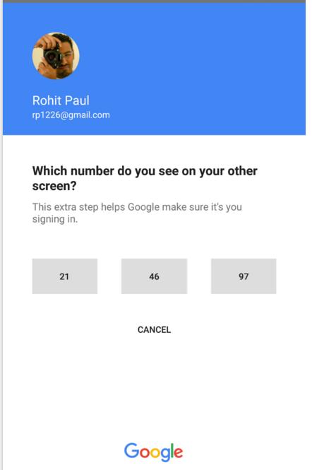 Google тестирует «беспарольный» вход - 6