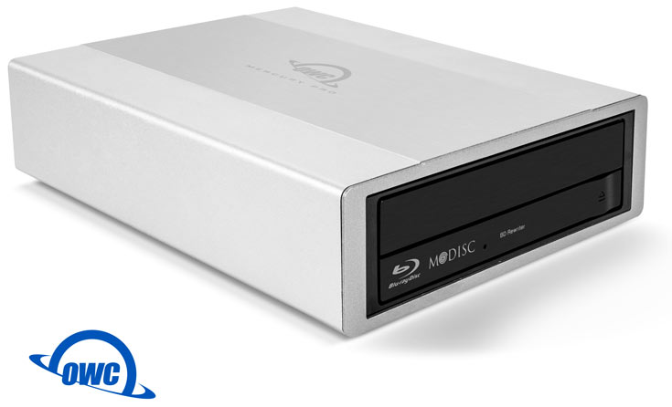 В алюминиевом корпусе OWC Mercury Pro находится привод LG WH16NS40 и контроллер ASMedia ASM1053E