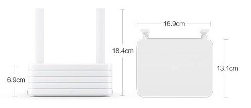 Xiaomi Router R2D с диском на терабайт - 2