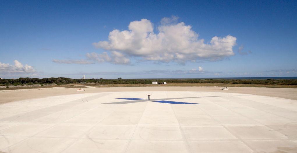 Компания SpaceX выложила hi-res фотографии взлета и приземления Falcon 9 - 3