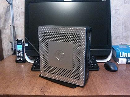 Тонкий клиент HP в качестве домашнего роутера и файл-сервера - 2