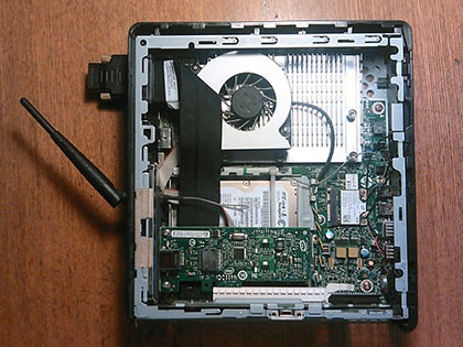 Тонкий клиент HP в качестве домашнего роутера и файл-сервера - 4