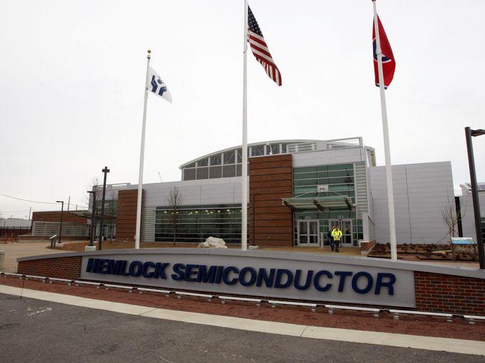 Google построит ЦОД на месте фабрики Hemlock Semiconductor