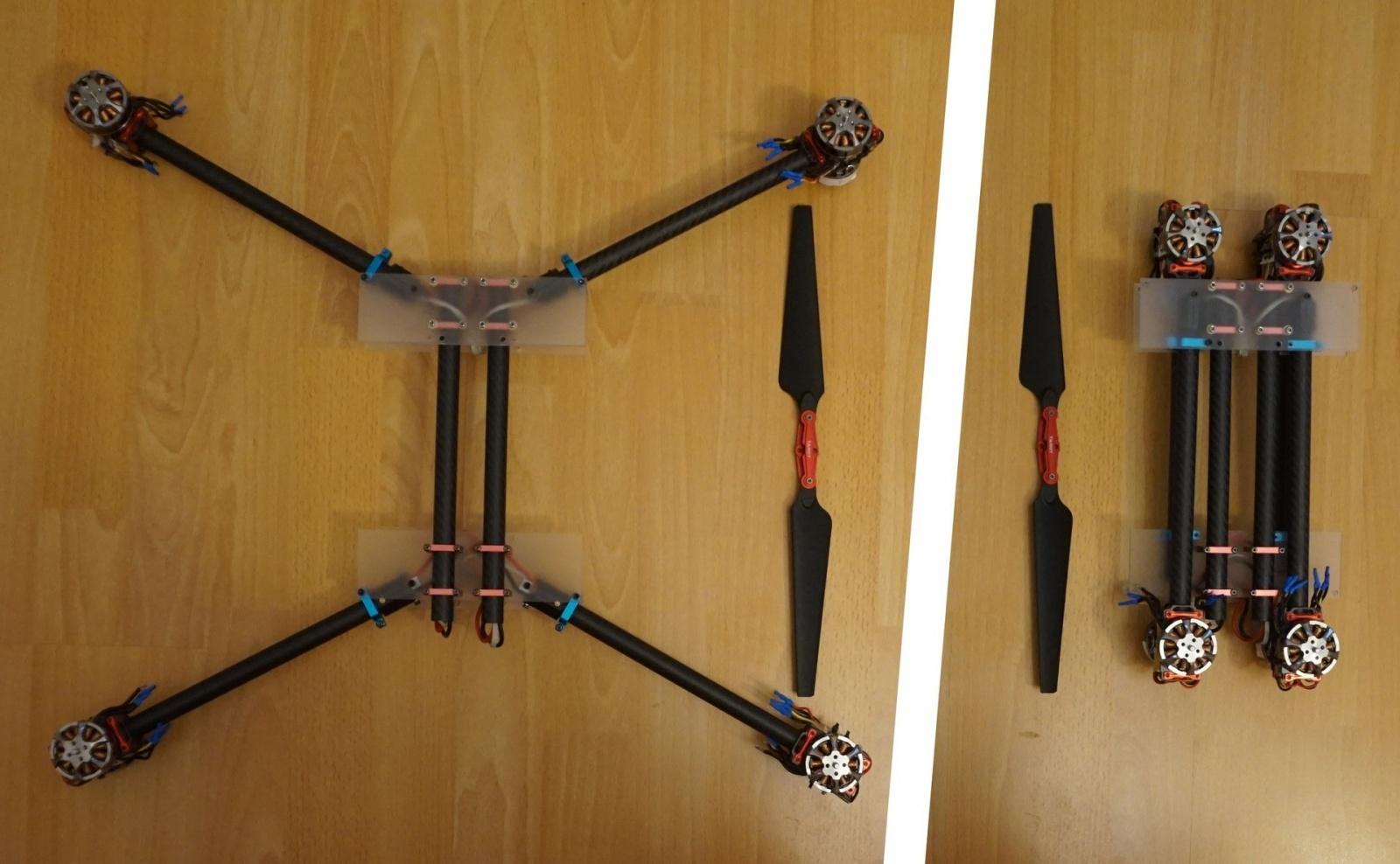 Коптер в рюкзаке (часть 2) — Лего для дронов - 2
