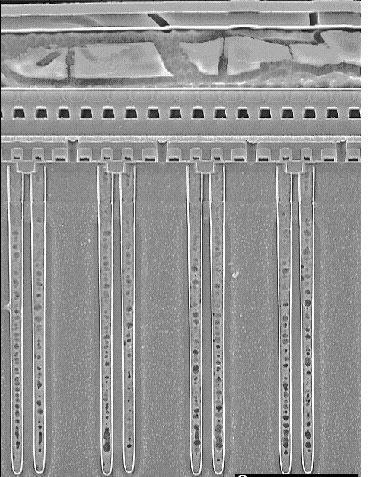 Сотовая структура и воздушные зазоры — ключ к дальнейшему уменьшению технологических норм при выпуске чипов DRAM