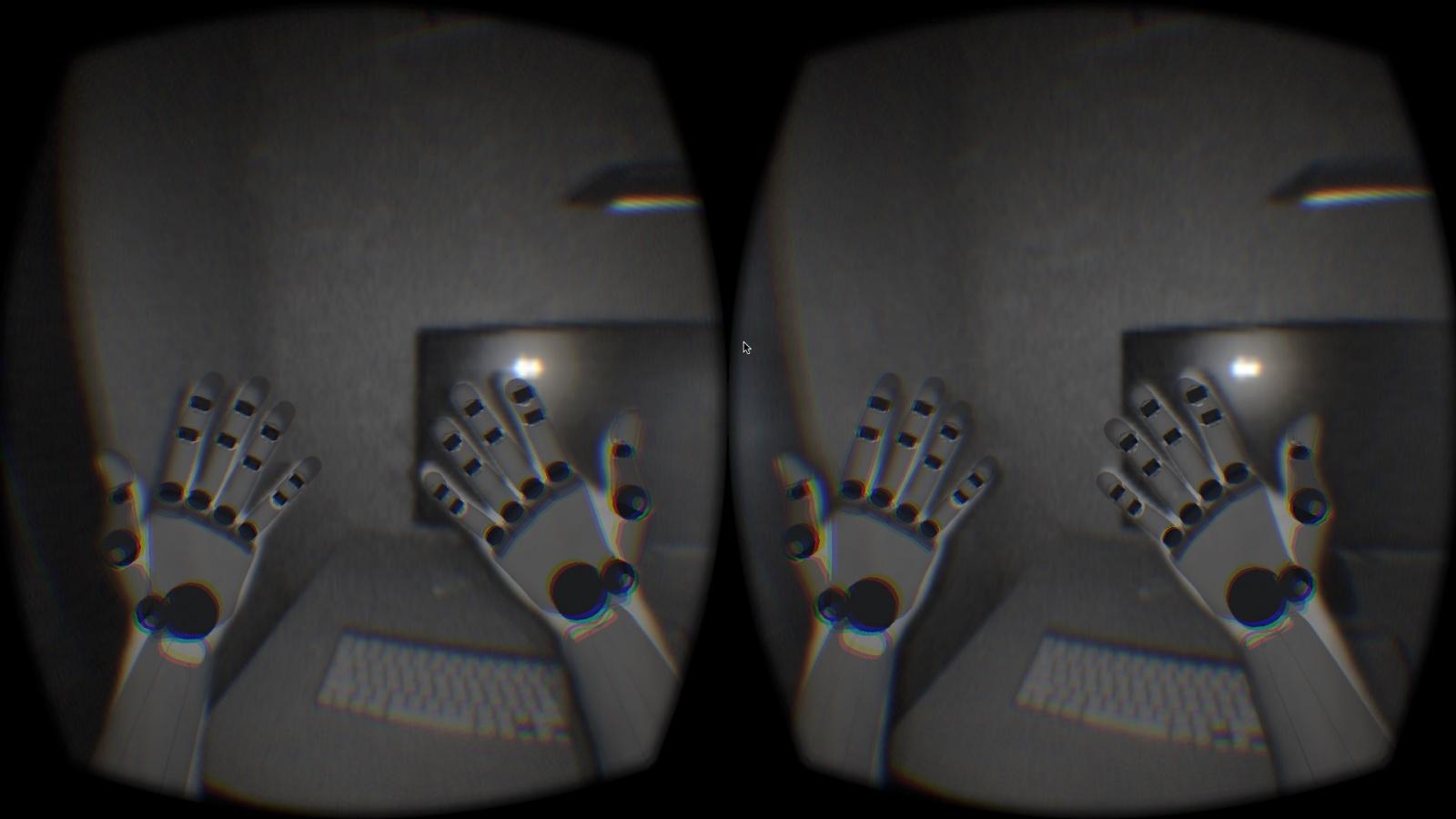 VRD + Leap Motion=дополненная реальность - 3