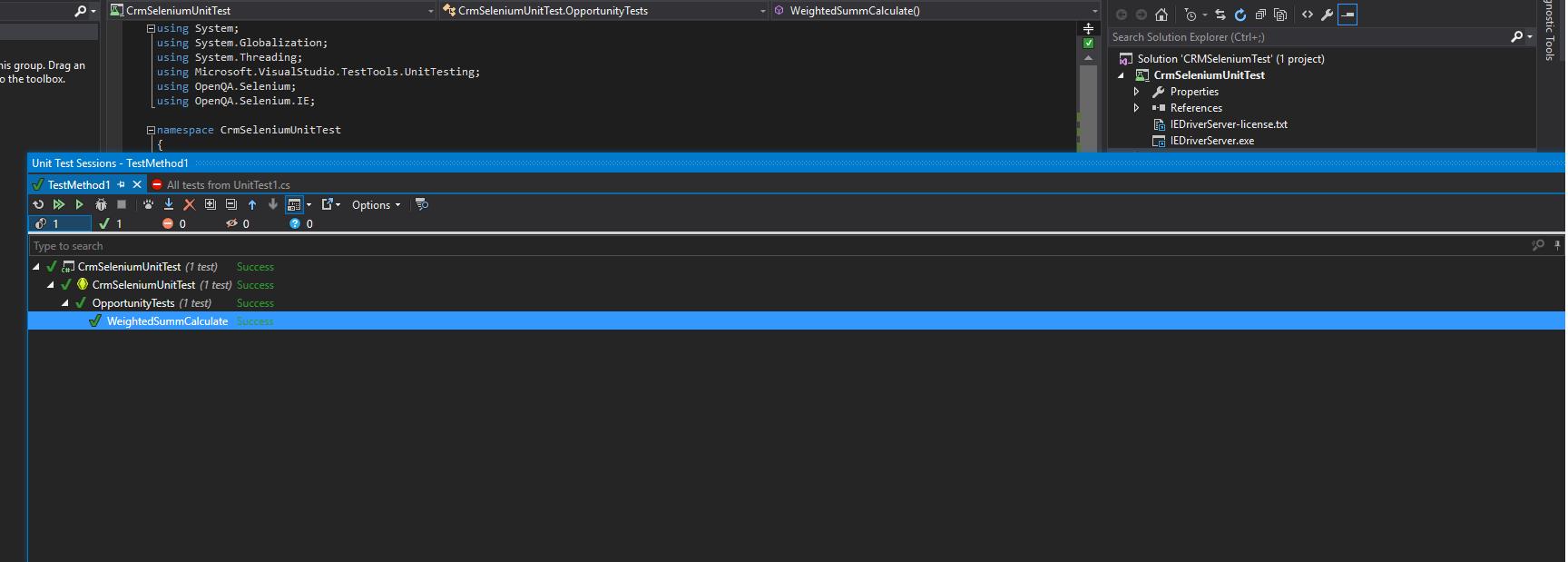 Применение Selenium WebDriver для тестирования MS Dynamics CRM - 3