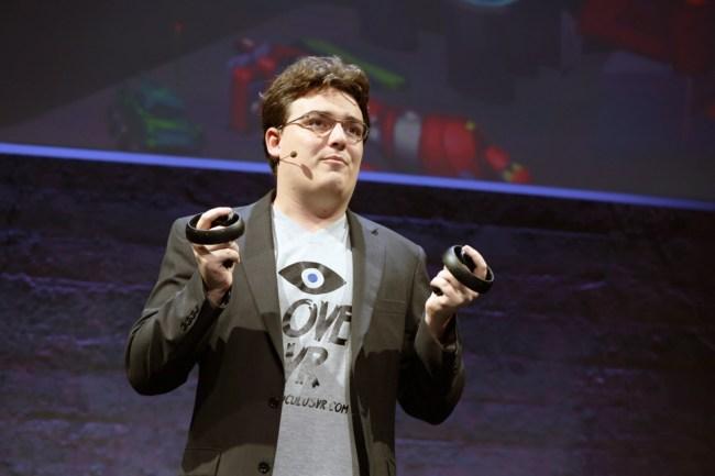 Палмер Лаки намекает, что шлем Oculus Rift может оказаться дороже, чем ожидалось