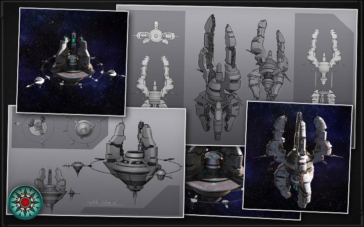 Работа над дизайном космических рептилоидов: блуждание по лабиринтам возможностей - 11