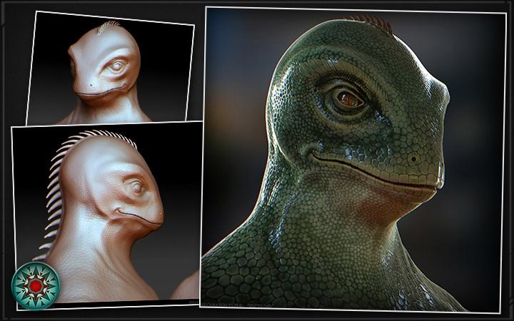 Работа над дизайном космических рептилоидов: блуждание по лабиринтам возможностей - 3