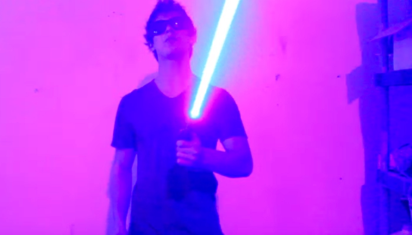 Самодельный лазерный меч — как это работает? - 1