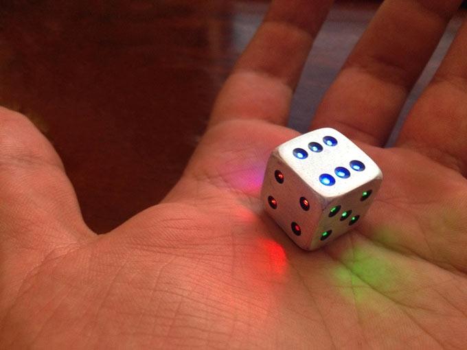 Кубик Luma Dice умеет экономить электроэнергию
