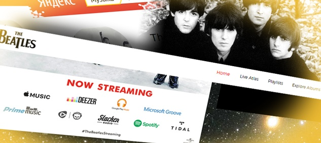 Яндекс.Музыка и Zvooq остались без The Beatles, конкуренты в Apple, Google и Deezer записи ансамбля получили