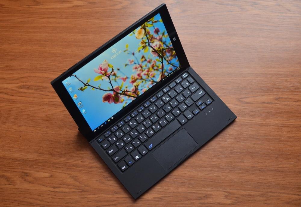 DEXP Ursus KX210i – планшет-трансформер на Windows 10 с процессором Intel® Atom™ - 1