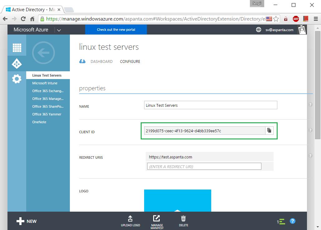 Авторизация в Ubuntu через Microsoft Azure AD - Office 365 - 8