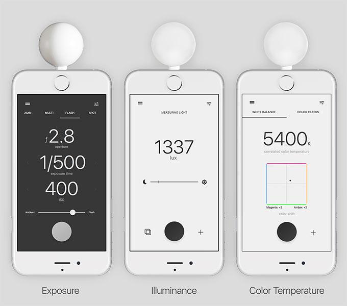 Измерение освещенности, экспозиции, цветовой температуры может быть очень полезно фотографам