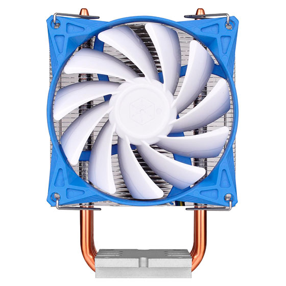 Конструкция процессорного охладителя SilverStone Argon AR08 включает три тепловые трубки диаметром 6 мм