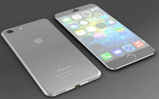 По слухам, iPhone 7 получит водонепроницаемый корпус без пластиковых полосок на задней панели