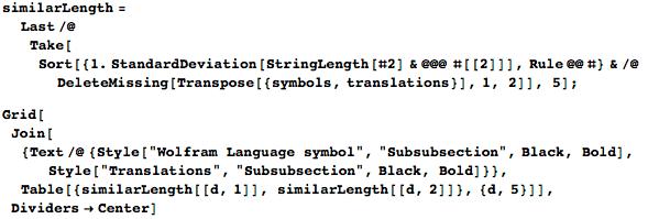 Проект по переводу языка Wolfram Language (Mathematica) на различные языки - 14
