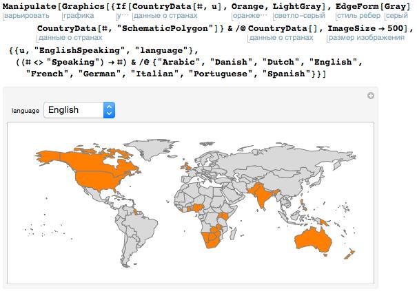 Проект по переводу языка Wolfram Language (Mathematica) на различные языки - 3