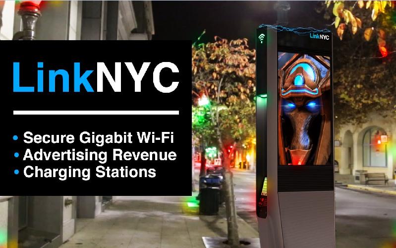 В Нью-Йорке начали разворачивать общественный гигабитный Wi-Fi - 1