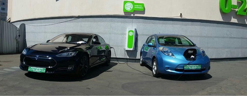 В Украине электромобилизация идет полным ходом: за год количество электрозарядных установок выросло в 10 раз - 1