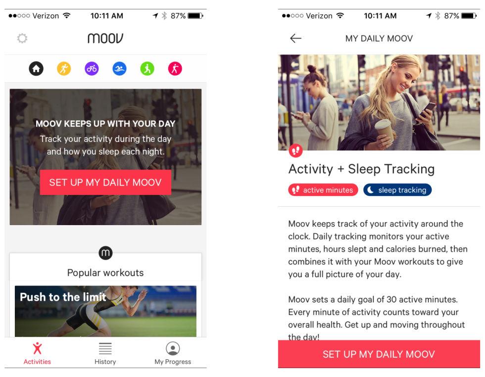 Moov Now: фитнес-трекер, который стимулирует владельца быть активным - 5