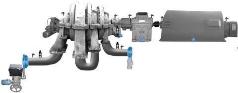Центробежные компрессорные установки. Защита от помпажа - 2