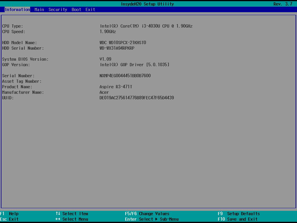 Пишем DXE-драйвер для снятия скриншотов с BIOS Setup и других UEFI-приложений - 5