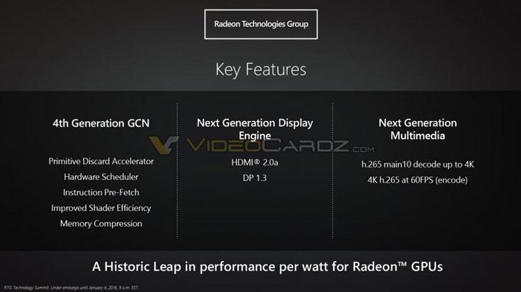Подробности об архитектуре AMD Polaris появились накануне анонса