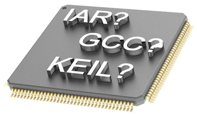 Сравнение компиляторов для разработки на микроконтроллерах с ядром ARM Cortex-M - 1