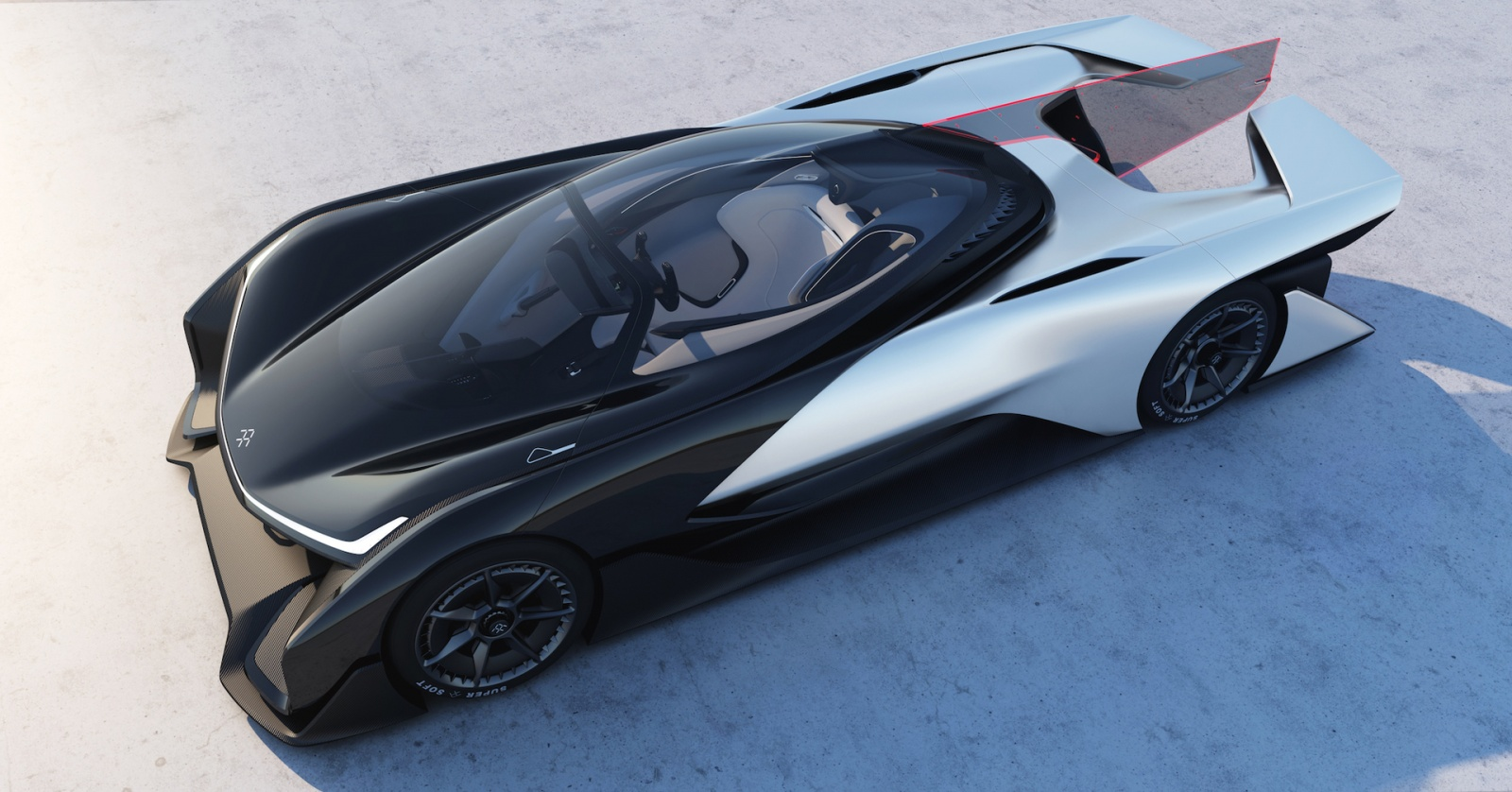 Faraday Future представила концепт модульной платформы электромобилей и суперкар FFZERO1 - 2