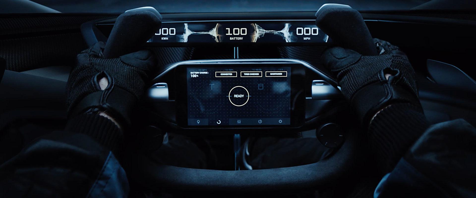 Faraday Future представила концепт модульной платформы электромобилей и суперкар FFZERO1 - 3