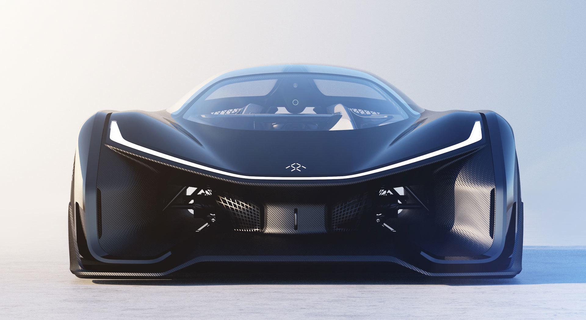 Faraday Future представила концепт модульной платформы электромобилей и суперкар FFZERO1 - 5