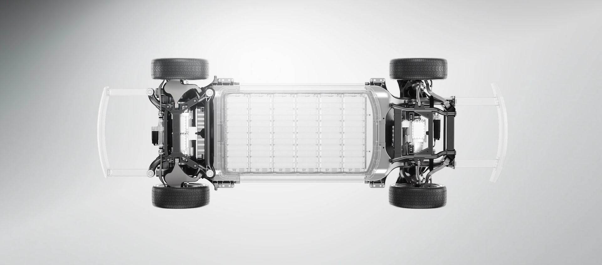 Faraday Future представила концепт модульной платформы электромобилей и суперкар FFZERO1 - 6