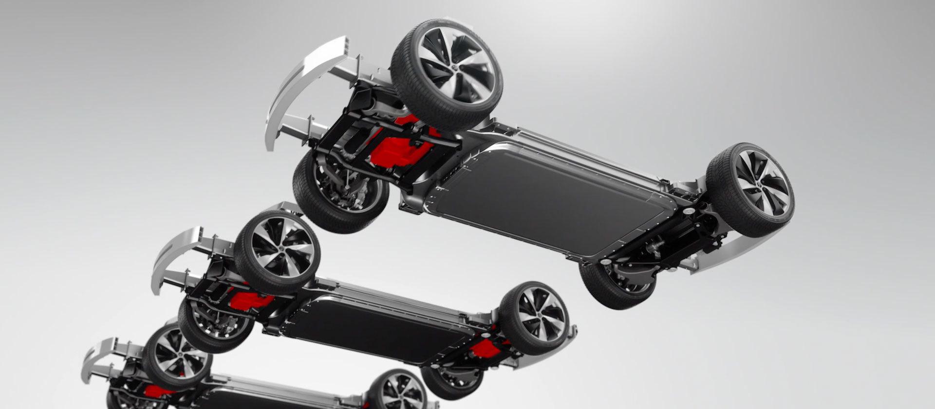 Faraday Future представила концепт модульной платформы электромобилей и суперкар FFZERO1 - 7