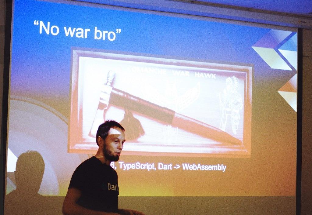 Meet-up «Продуктивная работа фронтенд-разработчика в условиях поддержки legacy-кода»: переход на Dart - 1