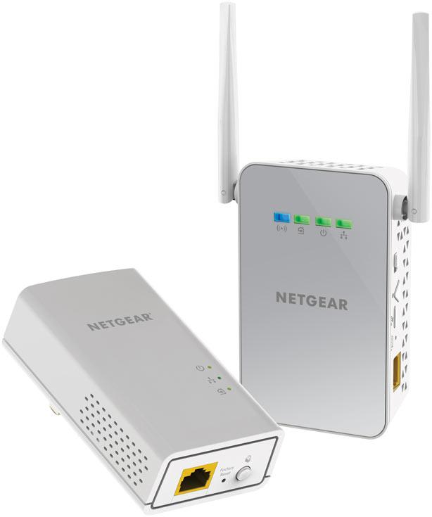 В адаптерах Netgear PowerLine WiFi 1000 объединены технологии HomePlug AV2 и Wi-Fi 802.11ac